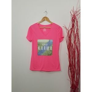 2/10$ 🎆 Athletic Works | Gym T-Shirt Pink Size S